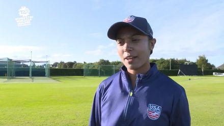 ICC T20WC Qualifier: USA v NAM - Sindhu Sriharsha pre-match interview