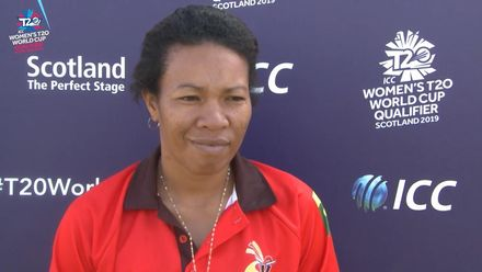 ICC T20WC Qualifier: USA v PNG - Kaia Arua post-match interview