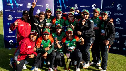 Bangladesh v Thailand, Final, ICC Women's T20 World Cup Qualifier at Dundee, Sep 7 2019