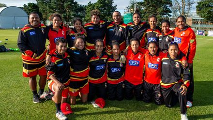 Papua New Guinea team.
