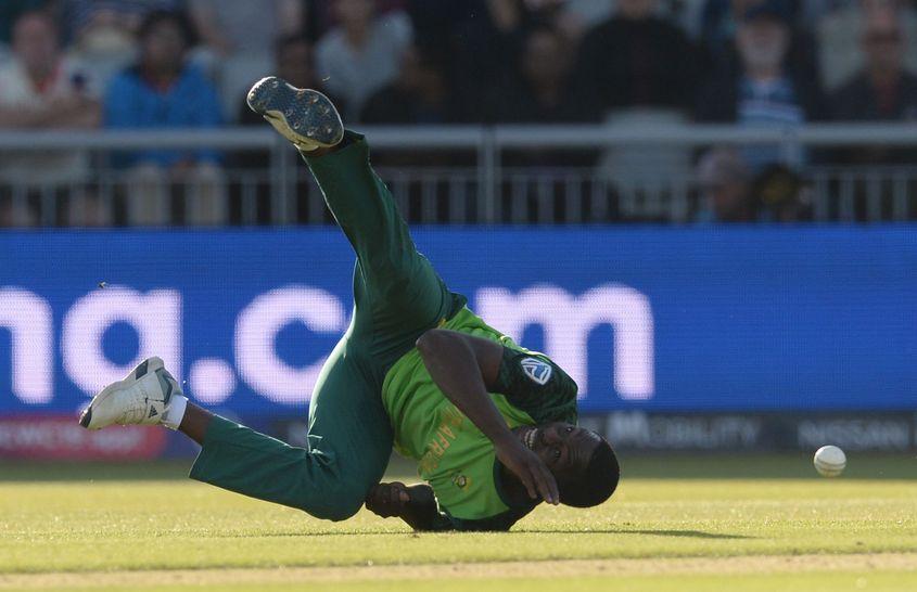 Kagiso Rabada endured a tough time at the World Cup