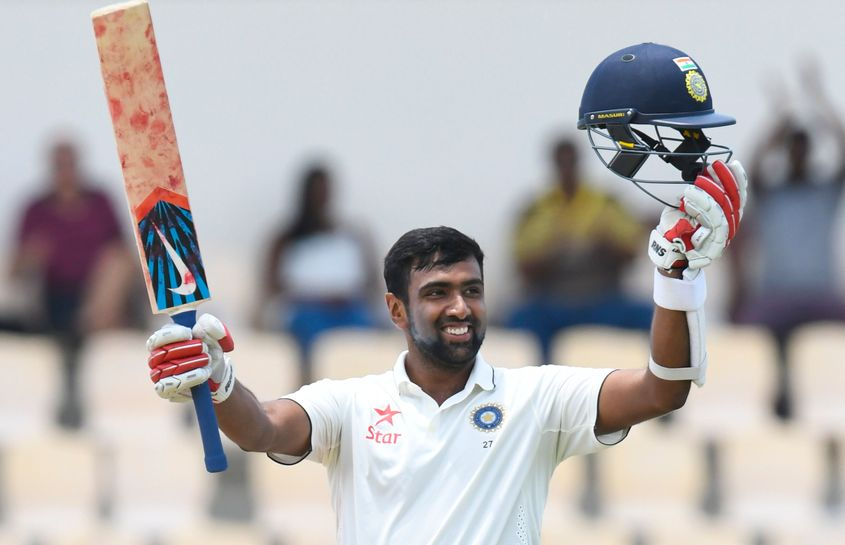 Ashwin has the sixth highest batting average in Tests (29.14) among all-rounders with a minimum of 300 wickets