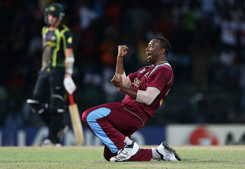 Pollard was part of the West Indies squad that won the 2012 ICC Men's T20 World Cup