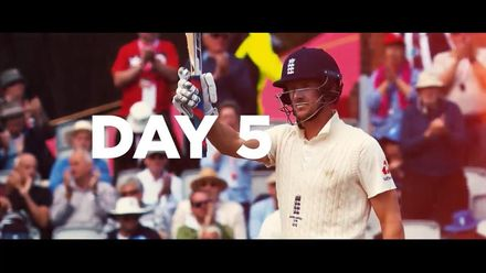 Ashes 2019: 4th Test, day 5 – highlights