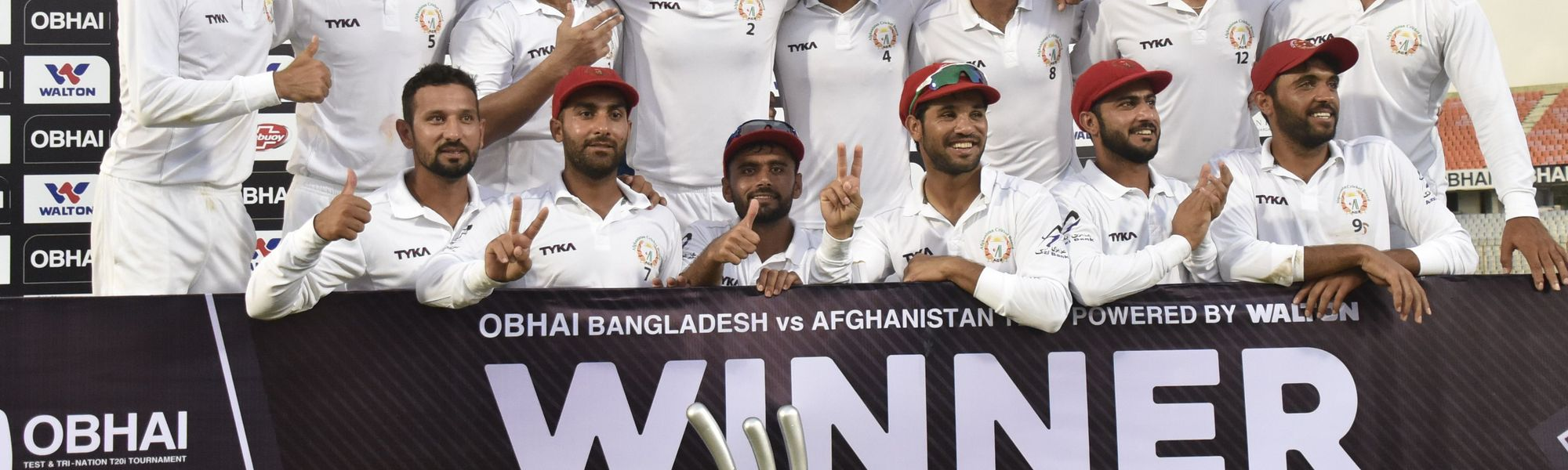 Rashid Khan stars as Afghanistan seal historic second Test