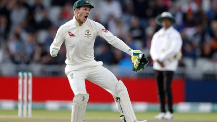 Skipper Tim Paine ecstatic after his side takes an unassailable lead