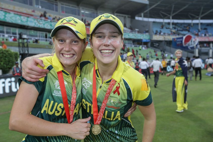 Elyse Perry is now second while Alyssa Healy is fourth in the batting rankings