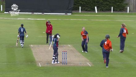 ICC T20WC Qualifier: NED v USA - Match highlights