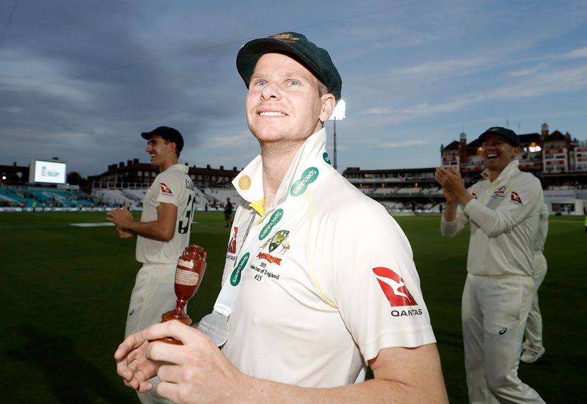 Steve Smith scored 774 runs in the Ashes at an average of 110.57