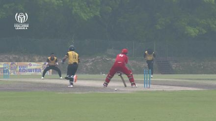 ICC CWC Challenge Group A – DEN v MAS: Full highlights