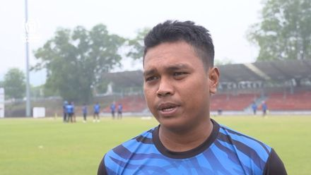 ICC CWC Challenge Group A – DEN v MAS: MAS pre-match interview