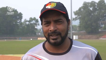 ICC CWC Challenge Group A – SIN v QAT: Singapore captain pre-match interview