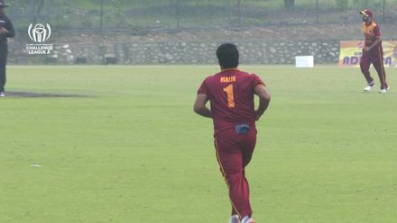 ICC CWC Challenge Group A – SIN v QAT: Chandramohan dismissed on 67