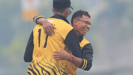 ICC CWC Challenge Group A – DEN v MAS: Malaysia's winning moment
