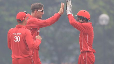 ICC CWC Challenge Group A – DEN v MAS: Denmark's Abdul Hashmi excels behind stumps