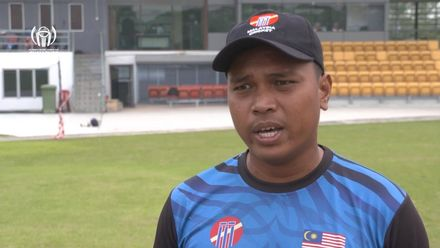 ICC CWC Challenge Group A – CAN v MAL: Malaysia captain Ahmed Faiz pre-match interview