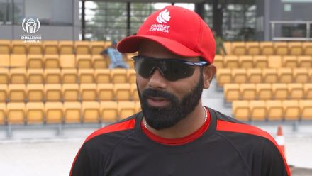 ICC CWC Challenge Group A – CAN v MAL: Canada captain Navneet Dhaliwal pre-match interview