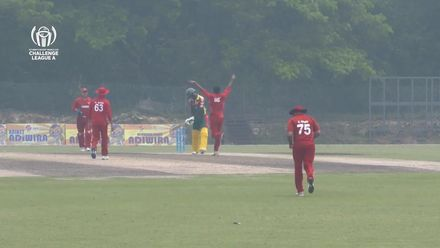 ICC CWC Challenge Group A – DEN v VAN: Match highlights