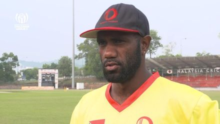 ICC CWC Challenge Group A – DEN v VAN: Vanuatu captain pre-match interview