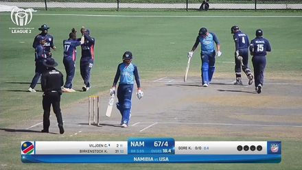 ICC Cricket World Cup League Two: USA v NAM – Highlights