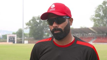 ICC CWC Challenge Group A – QAT v CAN: Canada captain pre-match interview