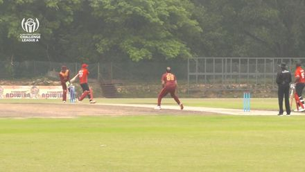 ICC CWC Challenge Group A – QAT v CAN: Iqbal Hussain strikes twice in an over
