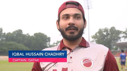 ICC CWC Challenge Group A – QAT v CAN: Qatar captain pre-match interview