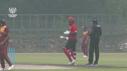 ICC CWC Challenge Group A – CAN v QAT: Srimantha Wijeyeratne gets to his century