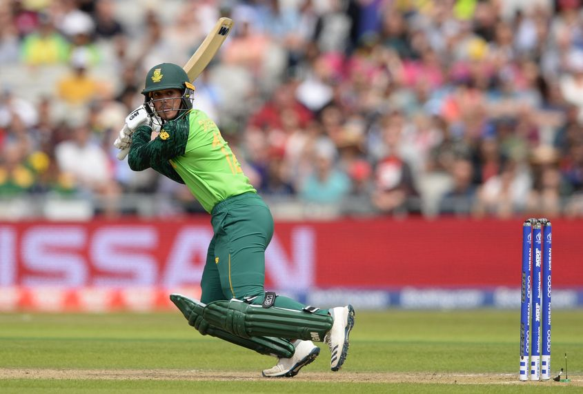 Quinton de Kock made a quick 37-ball 52 in the second T20I
