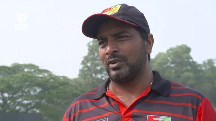 ICC CWC Challenge Group A – SIN pre-match interview