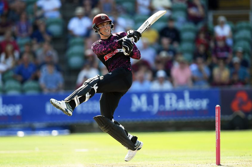 20-year-old Tom Banton finished second in the T20 Blast run charts