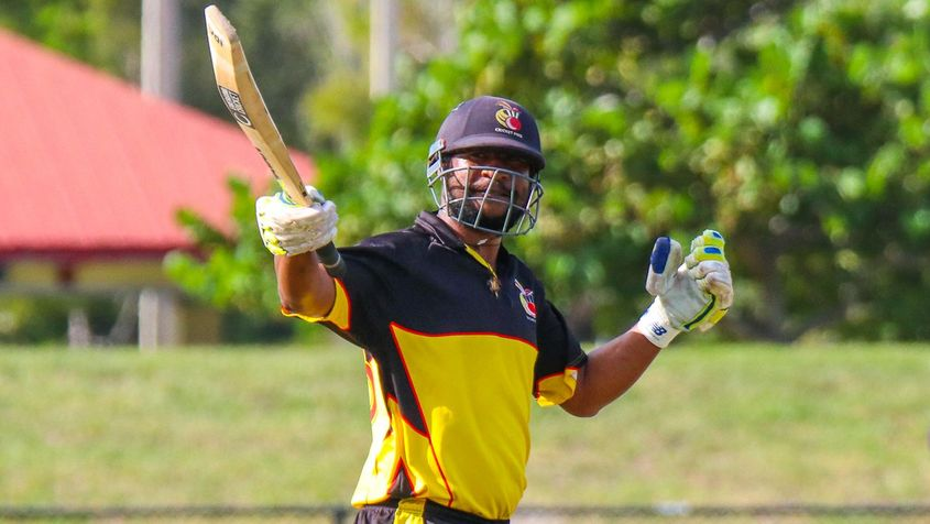 Assad Vala's century for PNG went in vain