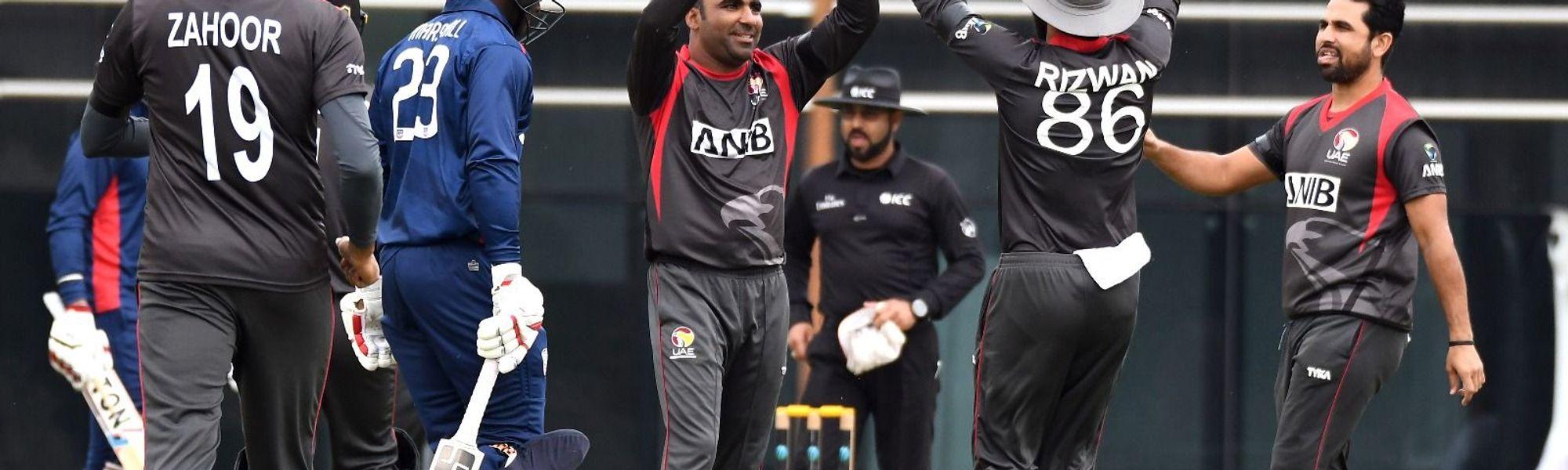 Shaiman Anwar, Chirag Suri return to UAE squad