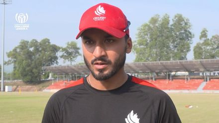 ICC CWC Challenge Group A – CAN v DEN: Canada captain Nitish Kumar pre-match interview