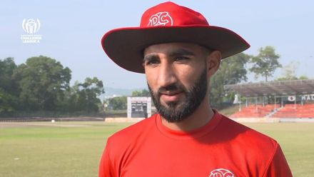 ICC CWC Challenge Group A – CAN v DEN: Denmark captain Hamid Shah pre-match interview