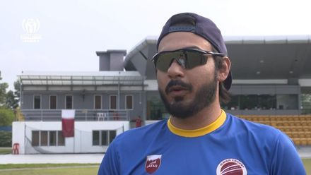 ICC CWC Challenge Group A – VAN v QAT: Qatar captain Iqbal Chaudhry pre-match interview