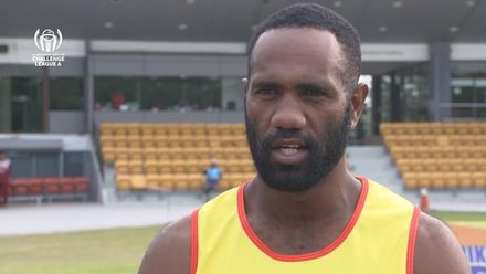 ICC CWC Challenge Group A – VAN v QAT: Vanuatu captain Andrew Mansale pre-match interview