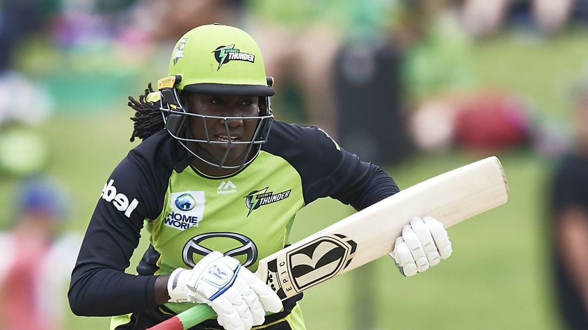 Stafanie Taylor has been a consistent performer for Sydney Thunder over the previous four seasons