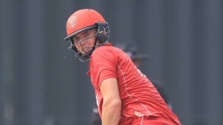 ICC CWC Challenge Group A – CAN v DEN: Denmark lose Henriksen early