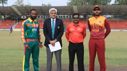 ICC CWC Challenge Group A – VAN v QAT: Match highlights