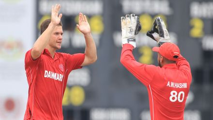 ICC CWC Challenge Group A – CAN v DEN: Canada opener Rodrigo Thomas falls early for 16