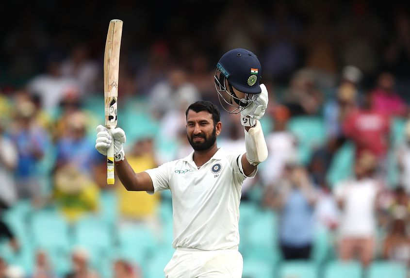 Pujara was in exceptional form against Australia last year, aggregating 521 runs at an average of 74.43
