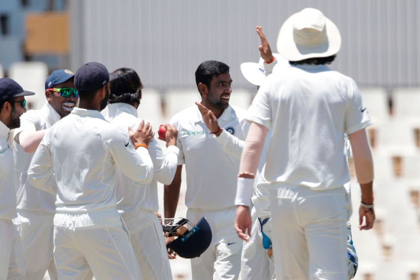 Ashwin had dismissed Elgar in the second Test in South Africa's home Test series in 2018