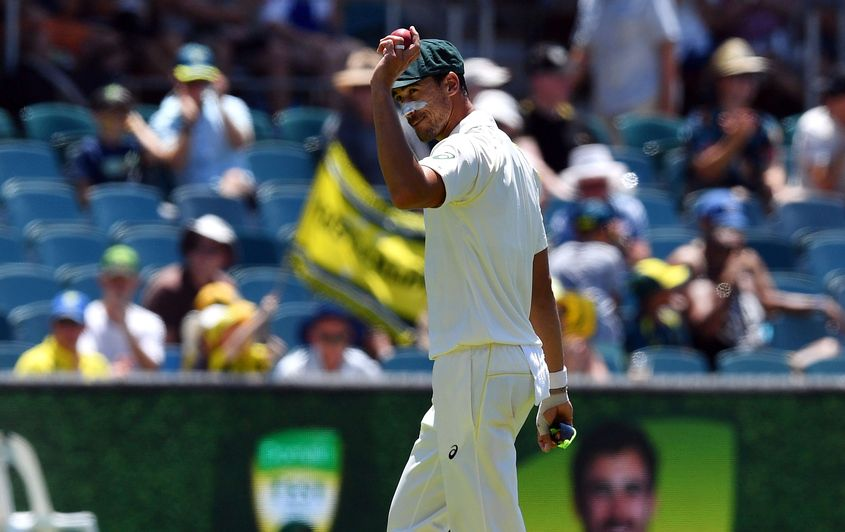 Starc registered five-wicket hauls in each innings of Australia's last home Test, played against Sri Lanka in February this year