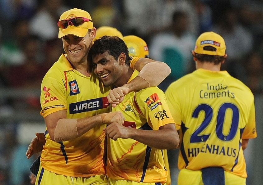 Rivals in international cricket, Du Plessis and Jadeja are IPL teammates