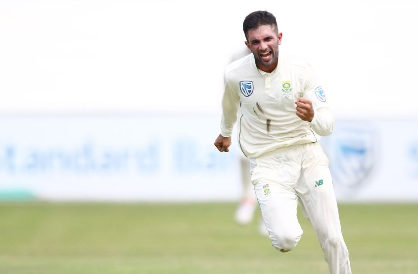 Maharaj's 9/129 are the second best bowling figures for South Africa in Tests