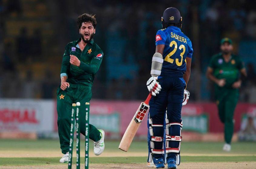 Usman Shinwari has gained 28 slots among bowlers