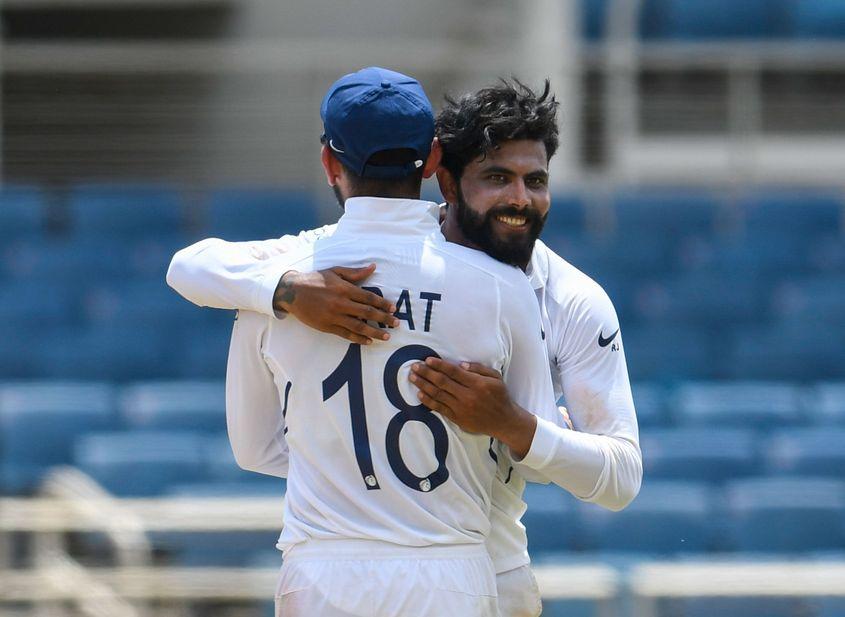 Ravindra Jadeja dismissed Dean Elgar on 2 in South Africa's second innings