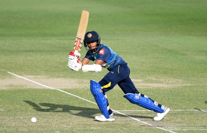 Shashikala Siriwardene top-scored for Sri Lanka with 30