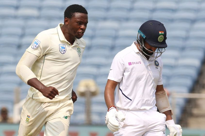 Rabada excelled on a tough day for his country